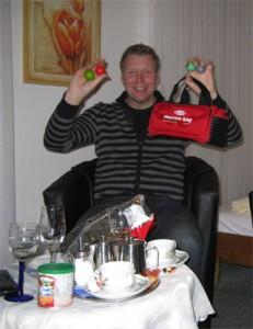 Beute nach dem Besuch bei Ingo Hoogen